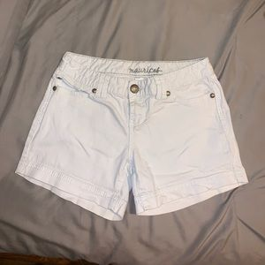 Maurices | White Jean Shorts
